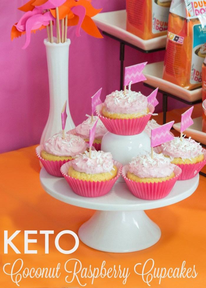 keto-coconut-raspberry-cupcakes